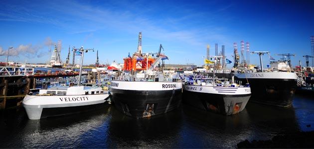 Bekijk alle binnenvaart shepen